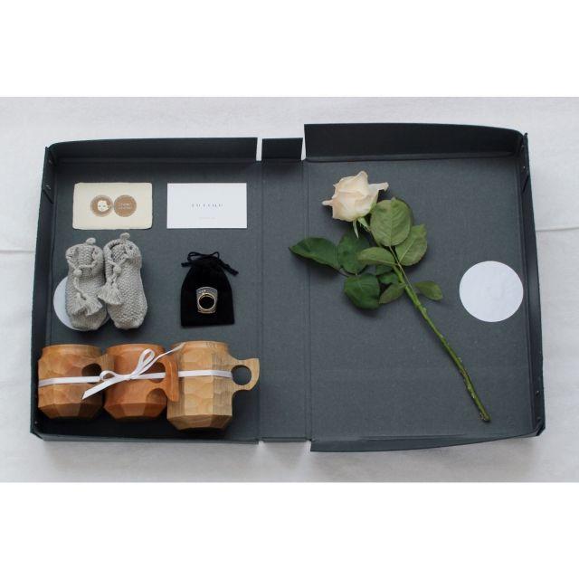 Atsushiさんの、新生児と暮らす,ジンカップ,ベビーブーティー,chomochomo,JUTIQU,コシャー箱,FOUND MUJI,ローズ,家族へ,プレゼント,おくりもの,のお部屋写真