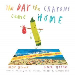 The Day the Crayons Came Home by Drew Daywalt & Oliver Jeffers | SLJ Review By Shelley Diaz on August 3, 2015