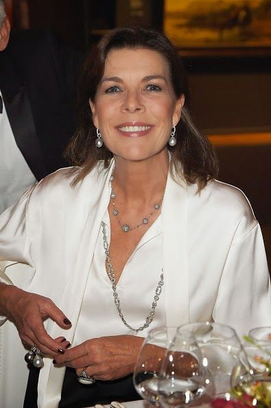 Princess Caroline of Hanover attends a benefit in the Rijksmuseum in Amsterdam on November 7, 2014