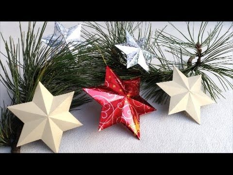 How to make 3D STAR - 6 pointed