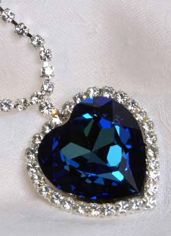 replica of the heart of the ocean necklace...one of my favorite pieces of jewelry :)