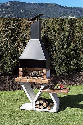 17 mejores ideas sobre asadores de acero inoxidable en for Barbacoa piedra volcanica jardin