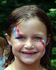 Simple Face Painting Patterns | photo credit: Ryan Baxter Photography