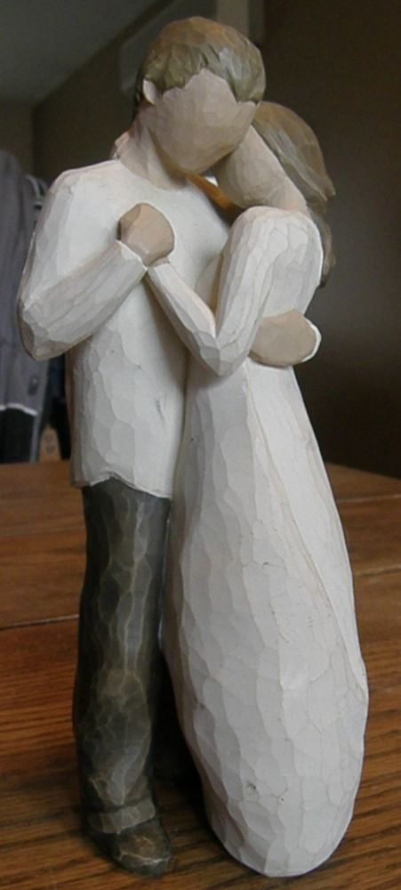 willow tree angel images | Willow Tree Promise Figurine Angel Angels Couple Marriage Demdaco ...
