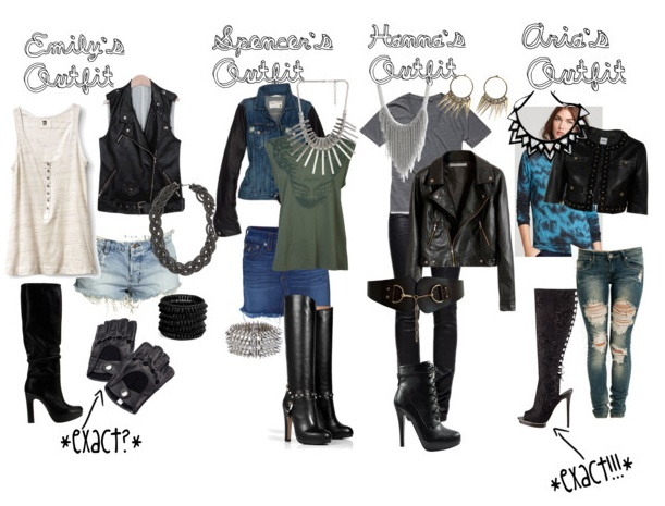 Pretty Little Liars Inspired Tumblr Fashion Pll Style
