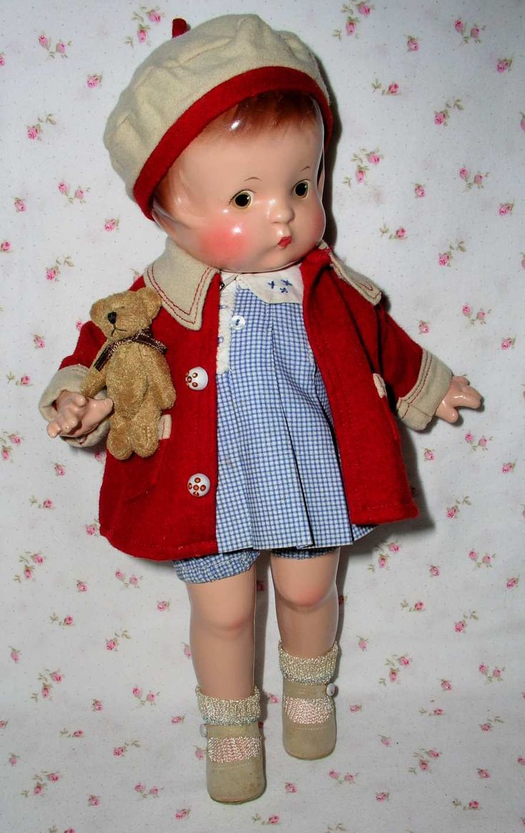 1929 Effanbee PATSY Doll -- Patent Pending -- OUTSTANDING - All Original