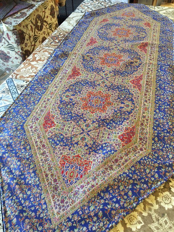 ORIENTAL TURKISH RUNNER, BLUE