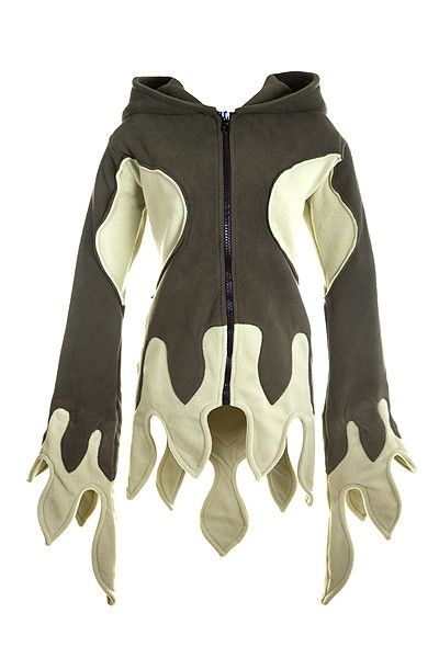 Kabátek Forest pixie (t.zelená/s.zelená)