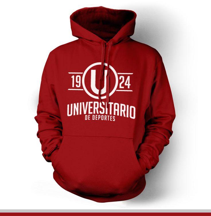 Universitario de Deportes Peru Hoody Sweatshirt Buzo