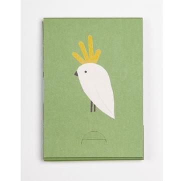 Pocket Pad - Cockatoo - Bobangles #SundayPaper #Australia #travel #pocketPad #cockatoo