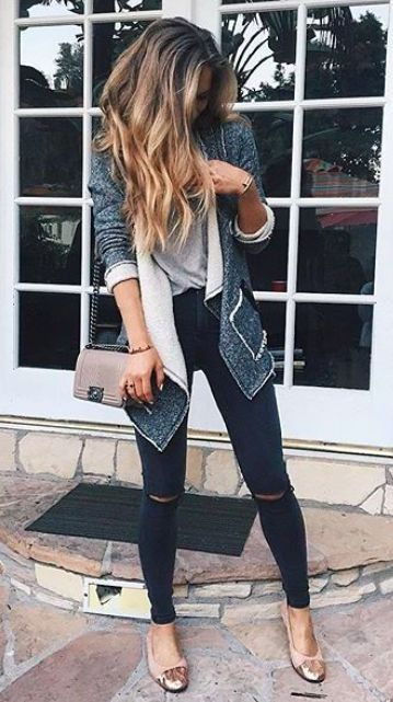 knee ripped jeans say no to a classy jeans