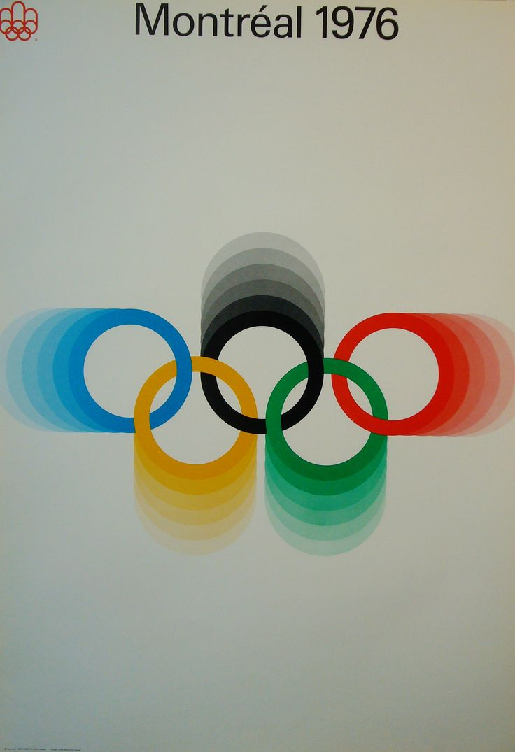 Olympic rings logo rio 2016 olympics logo designed by fred gelli - 1976 Montreal Olympics Poster With Stylized Rings Logo