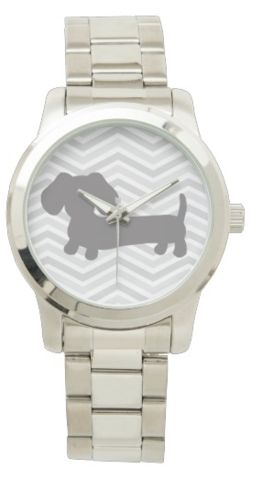 Stainless Steel Dachshund Watch – The Smoothe Store