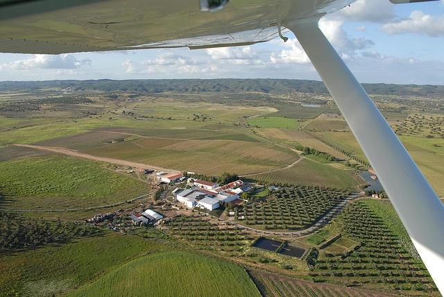 Cortes de Cima Aerial view