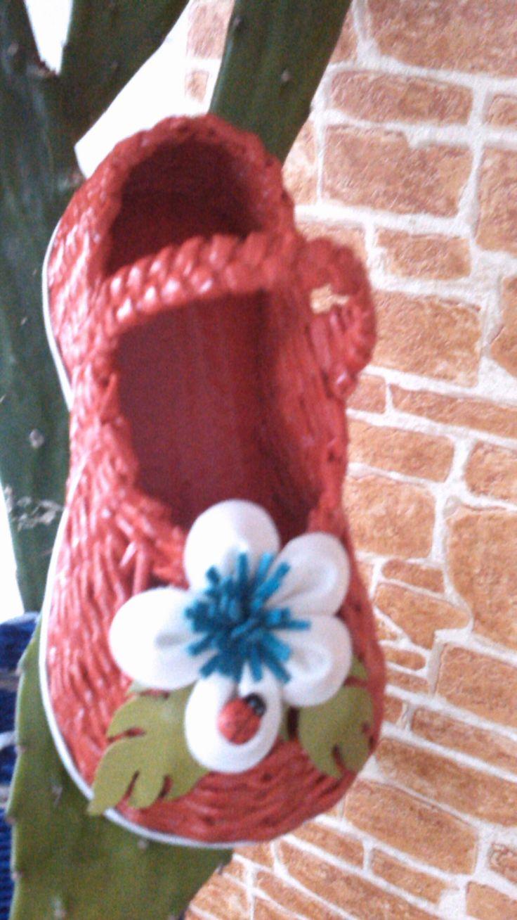 Красная туфелька.......
