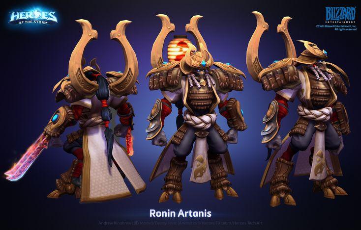 ArtStation - Artanis Ronin Skin, Andrew Kinabrew