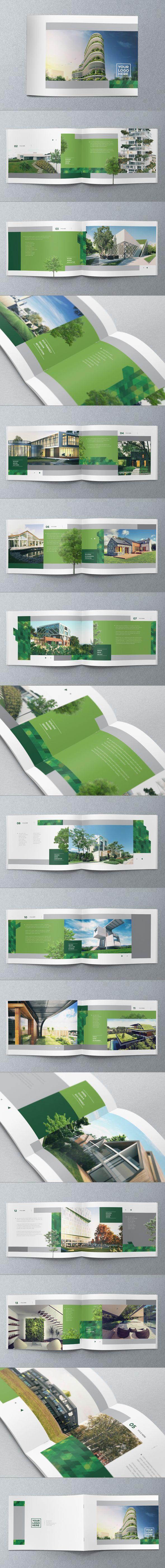 Brochure Design by Abra Design, via Behance