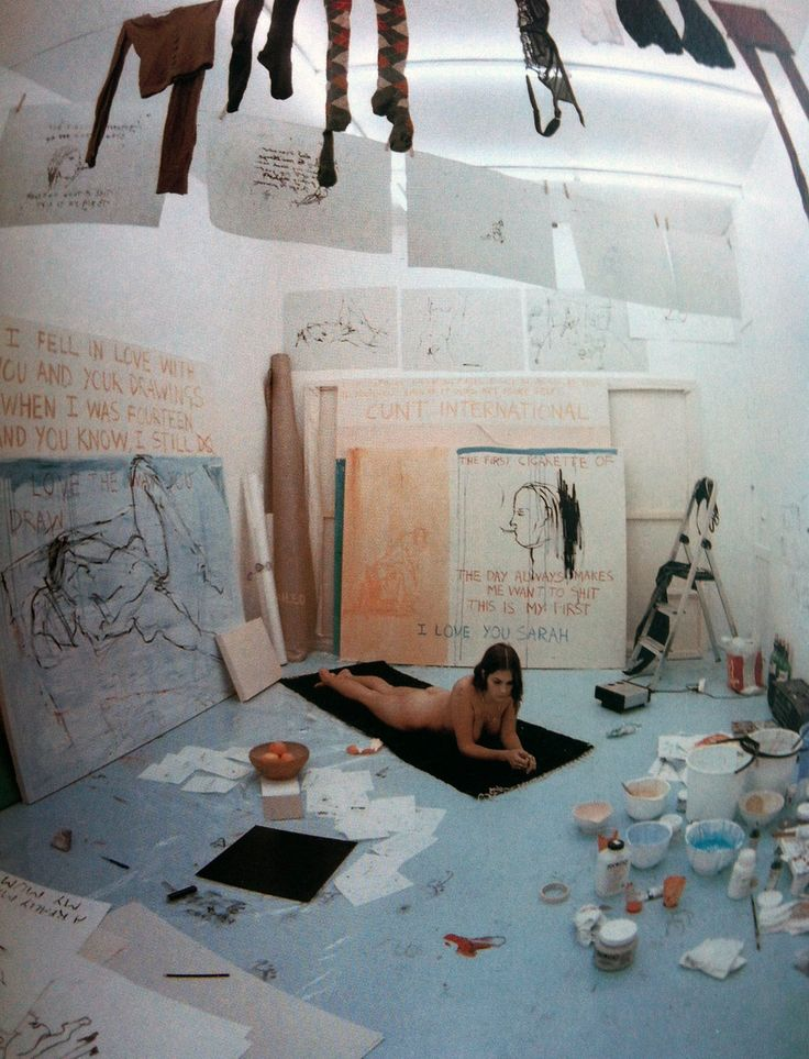 Exorcism of the Last Painting I Ever Made by Tracey Emin, 1996 (1)
