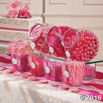 Pink Candy Buffet Idea