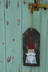 Door/Wall/Cabinet tag - 'Garden Gnome'