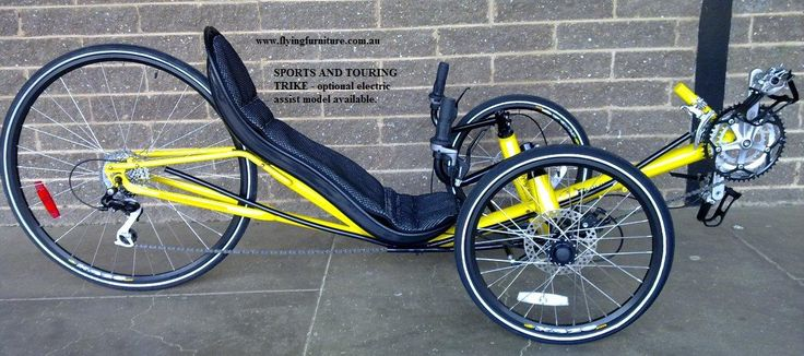 delta runner bike homemade recumbent trike bike style. Black Bedroom Furniture Sets. Home Design Ideas