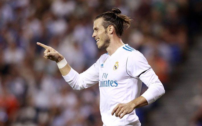Download imagens Gareth Bale, O Real Madrid, futebol, jogadores de futebol, La Liga, estrelas do futebol, galácticos