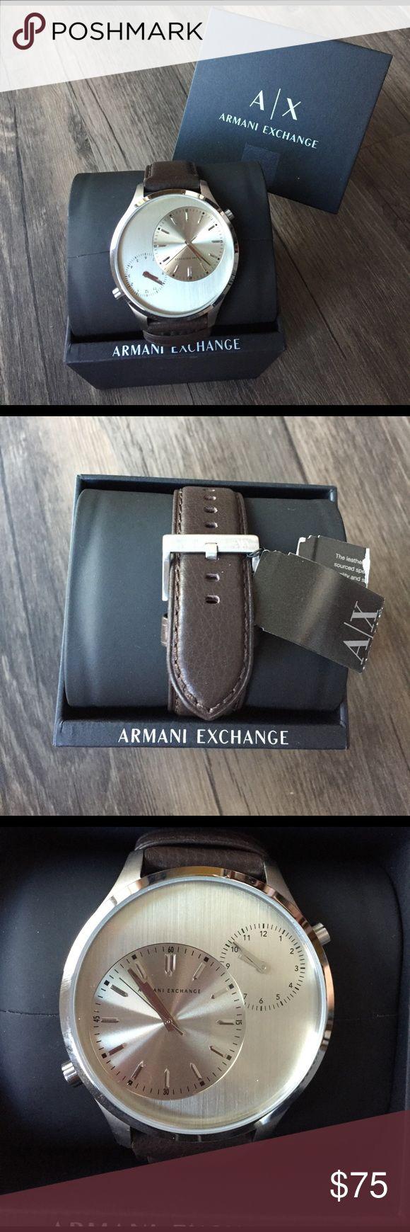 Selling this Armani Exchange Watch on Poshmark! My username is: jredlich4. #shopmycloset #poshmark #fashion #shopping #style #forsale #A/X Armani Exchange #Other