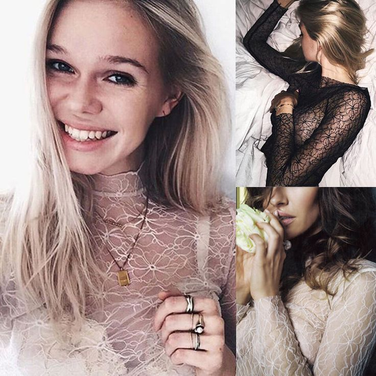 >> Click to Buy << New Sexy Fashion Women Long Sleeve Casual Lace See-through Blouses Loose Ladies Clothing Summer Shirts #Affiliate