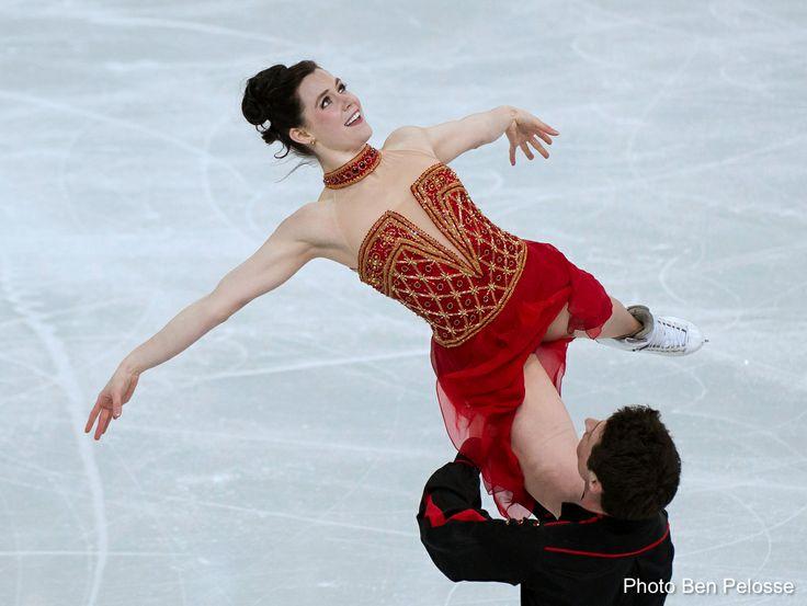 Sotchi 2014: Coup de coeur pour la danse libre au patinage artistique. Scott Moir et Tessa Virtue.