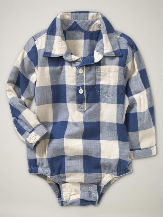 Baby flannel, this is the cutest thing ever and my child will wear this!