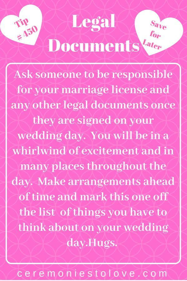 Your wedding day is huge celebration with family and friends.  Don't forget it i…