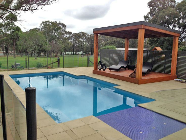 Poolside Pergola #outdoorliving