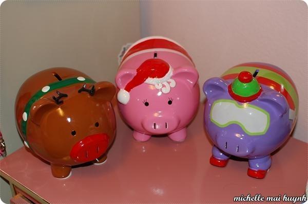 xmas piggy banks