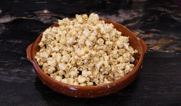 Ras El Hanout and Maple Syrup Popcorn