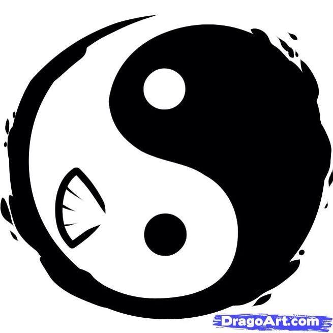 177 best yin yang images on pinterest yin and yang for Yin yang fish