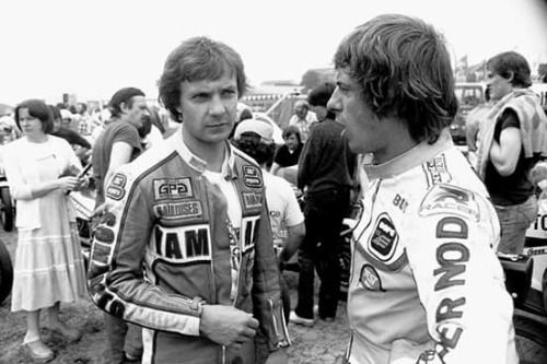 Chimay 1979 Patrick Pons and Olivier Chevallier.