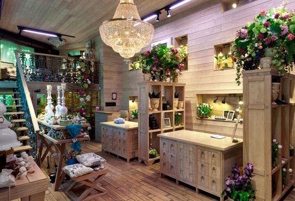 Beautiful Interior Design: Flower Shop in Kiev | InteriorHolic.com