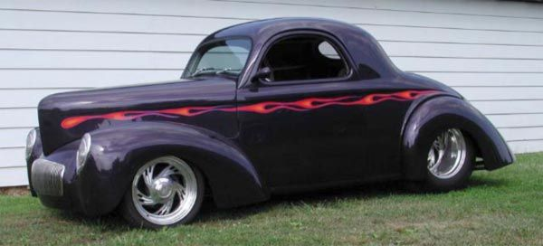 Stan Shiner's 41 Willys - Old Dog Street Rods - Your Midwest Street Rod Source