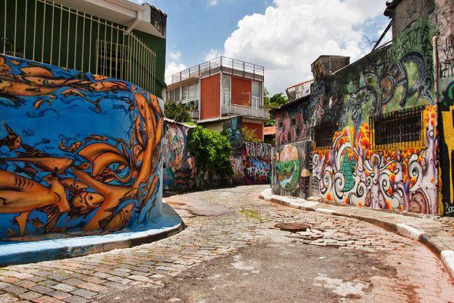 A incrível arte do Beco do Batman, em São Paulo
