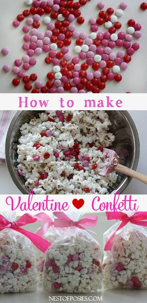 Valentine Confetti - Nest of Posies #yearofcelebrations
