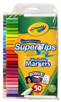 """""""Adults sometimes insist that children use crayons rather than markers, because markers are expensive and can easily be ruined by leaving caps off or pressing too hard.  But rather than avoiding markers, teachers need to demonstrate how to use and care for them."""""""