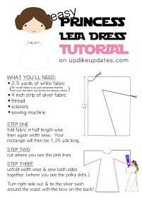 The Quickest, Easiest. & Least Expensive way to make Princess Leia Dress, whether you're making one or 20. Star Wars party or Halloween costume tutorial