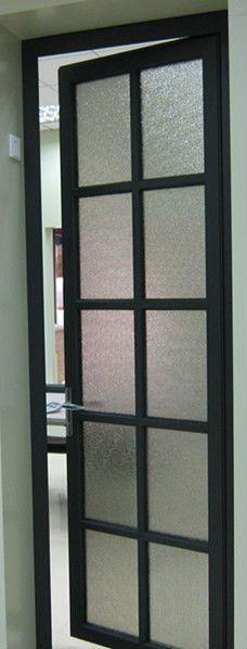 1.high quality aluminium bathroom door 2.Frosted glass 3.Soundproof  waterproof & Best 25+ Glass and aluminium ideas on Pinterest | Internal glass ... pezcame.com