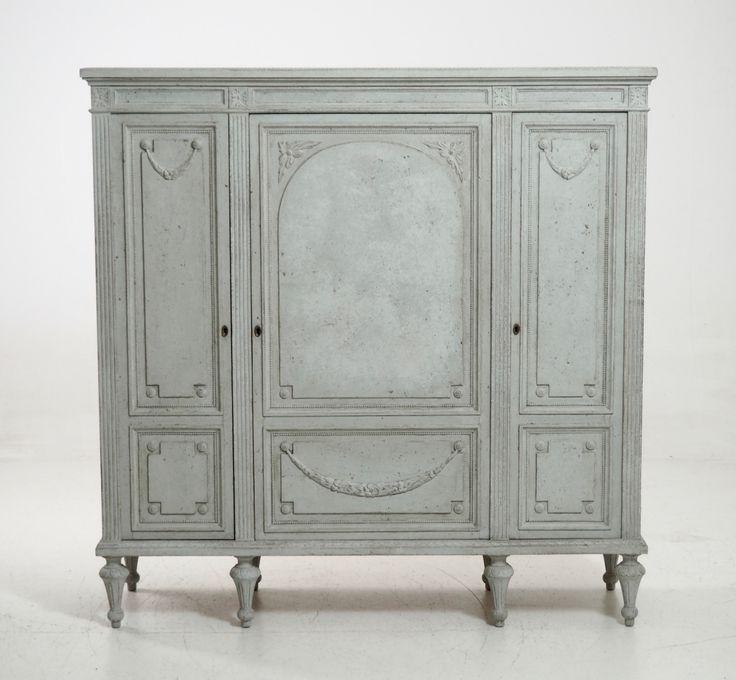 Rare Antique Gustavian Style Cabinet