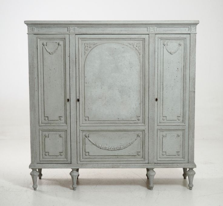 Rare Antique Gustavian Style Cabinet