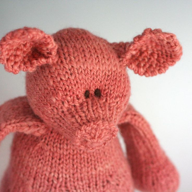 Free Knitting Patterns Stuffed Toys : 17 Best images about Knitted Toys on Pinterest Stuffed ...