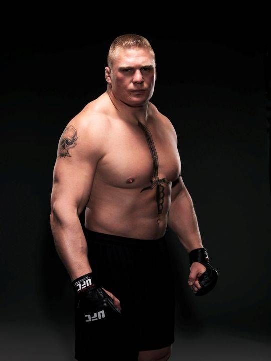 Do you know, that Brock Lesnar has entered American Football before @WWE ?