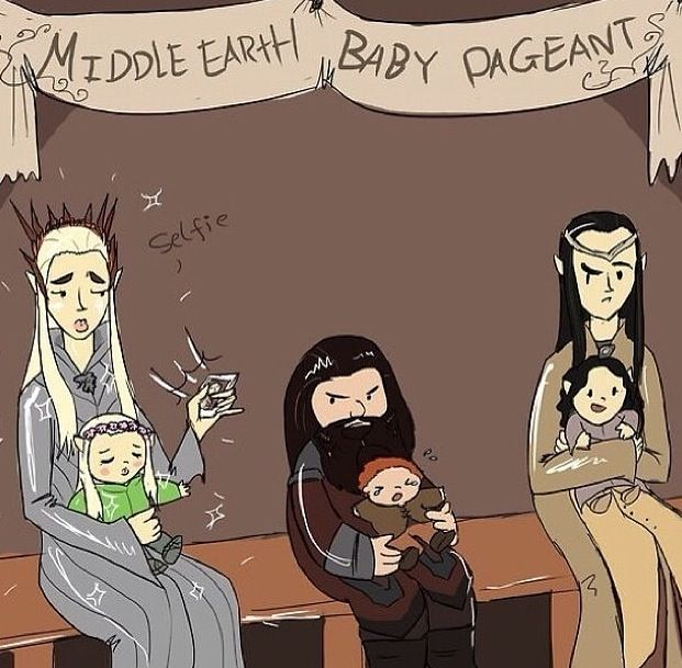 Middle Earth Baby Pageant.
