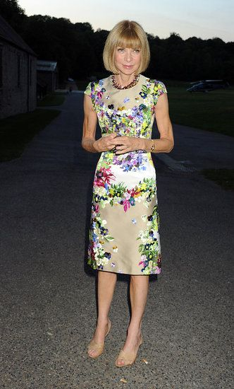Anna Wintour. The Fashion Industry would never be the same...what an inspiration.