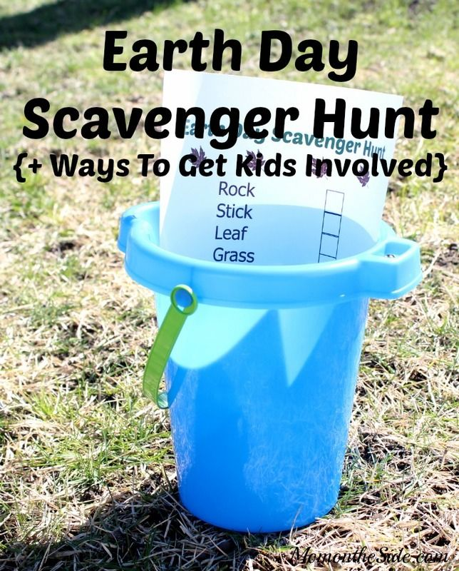 Printable Earth Day Scavenger Hunt + Ways to Get Kids Involved #TurfMutt ad